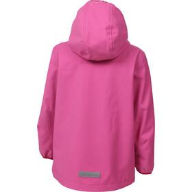 Color Kids Barkin Veste Softshell Fille, pink heaven